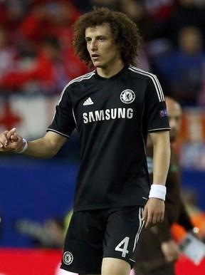 David Luiz, jogador da seleção brasileira (Foto: Reuters)