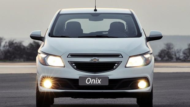 Chevrolet Onix 3 (Foto: Chevrolet Onix LTZ 1.4 Flex)