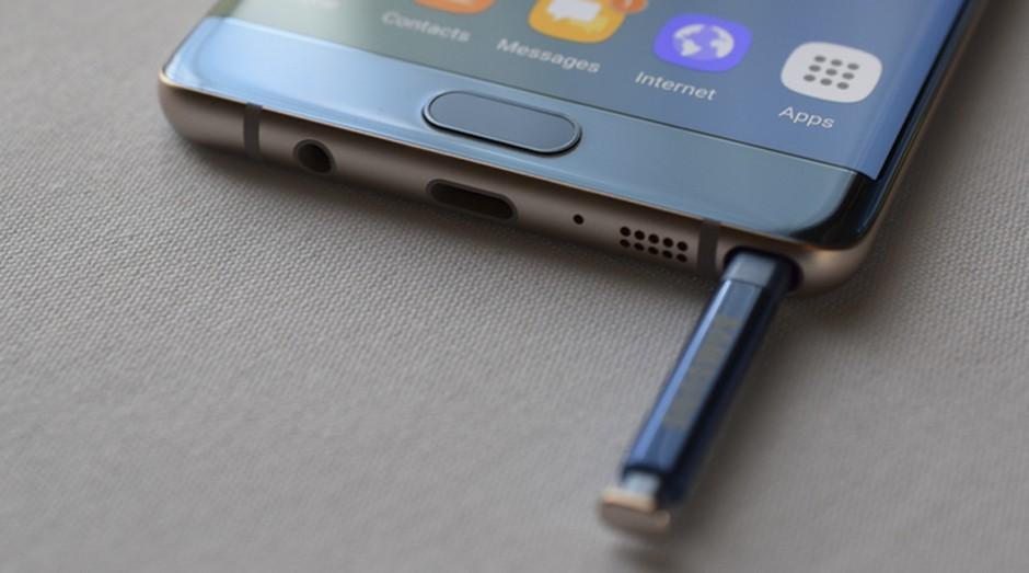 Samsung Galaxy Note FE: novo celular da empresa da Coreia do Sul (Foto: Reprodução)