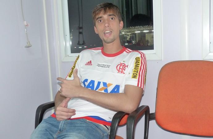 Cesar goleiro Flamengo (Foto: Fred Gomes / GloboEsporte.com)
