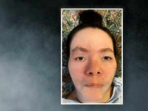Polícia faz simulação de como estaria o rosto de 'Clarinha', mulher que vive no hospital em coma há 15 anos, espírito santo, HPM (Foto: Reprodução/ TV Gazeta)