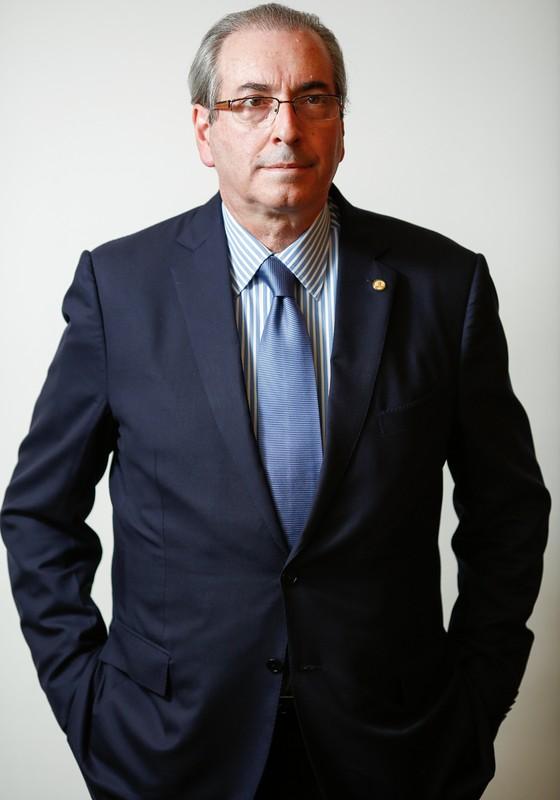 Ensaio impeachment deputado  Eduardo Cunha (PMDB/RJ) (Foto: Sérgio Lima/ÉPOCA)