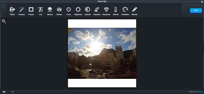 Edite suas fotos antes de postá-las (Foto: Reprodução/Juliana Pixinine)