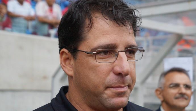 Marcelo Martelotte, técnico do Atlético-GO (Foto: Augusto Gomes)