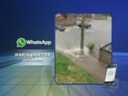 Chuva causa problemas na região de Sorocaba nesta segunda-feira