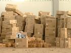 Polícia encontra cerca de 5 mil caixas de aparelhos roubados em Paulínia