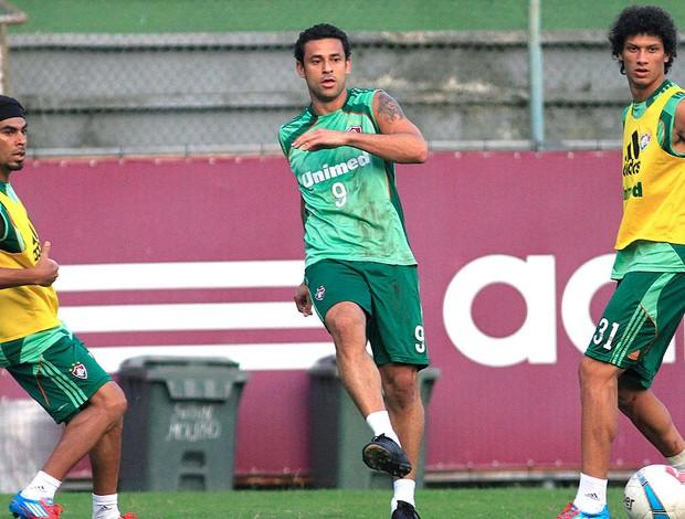 Fred no treino do Fluminense (Foto: Nelson Perez / Fluminense. F.C.)