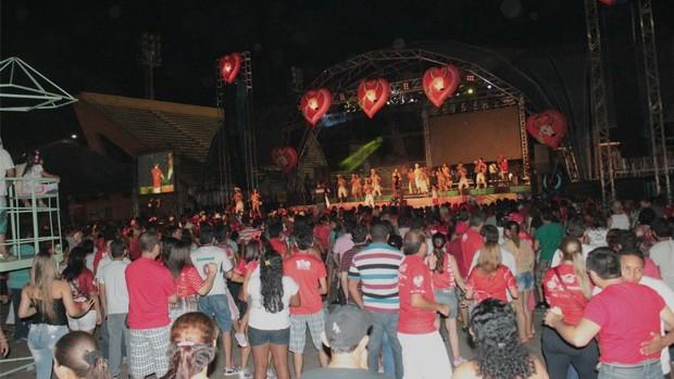 Veja fotos da Festa da Vitória em Manaus (Marcos Dantas / G1 AM)