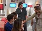 Antes do último capítulo, atores de 'Em Família' esbanjam simpatia