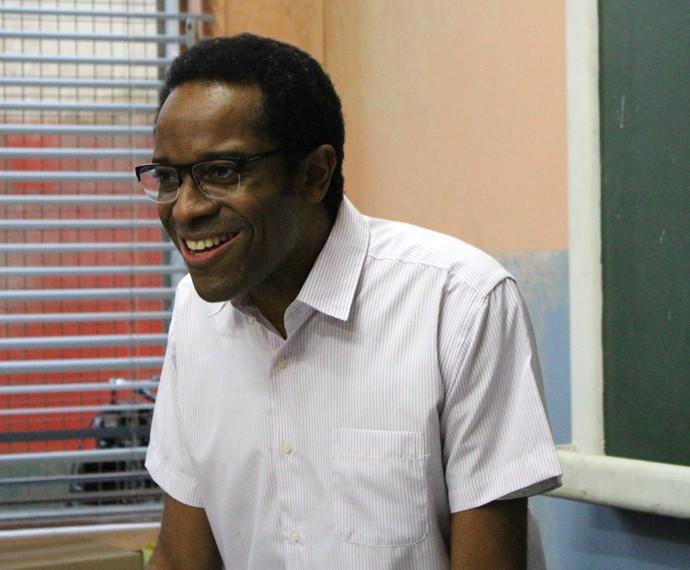 Samuel acredita que não existe diferença entre alunos do Leal Brazil e Dom Fernão (Foto: Thais Reis)