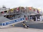 Navio da Marinha é aberto para visitação gratuita no Porto de Santos