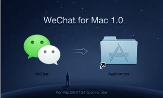 WeChat no Mac OS (Foto: Reprodução/TechTudo)