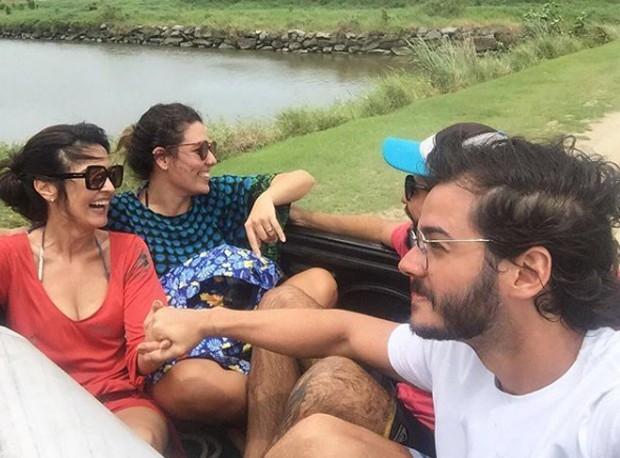 Fátima Bernarndes e Túlio Gadelha (Foto: Reprodução/Instagram)