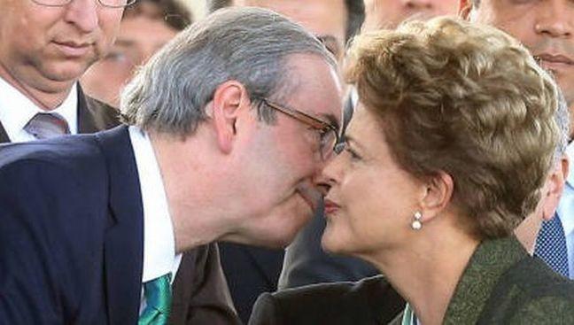 Eduardo Cunha e Dilma Rousseff (Foto: Divulgação)
