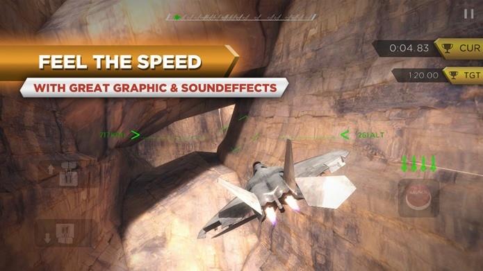 Jogo de aviões de guerra para Android com gráficos excelentes (Foto: Divulgação)