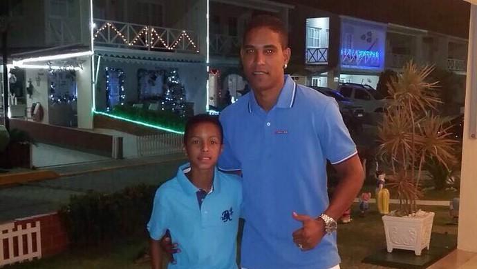 Cleber Santana filho Clebinho (Foto: Arquivo Pessoal)