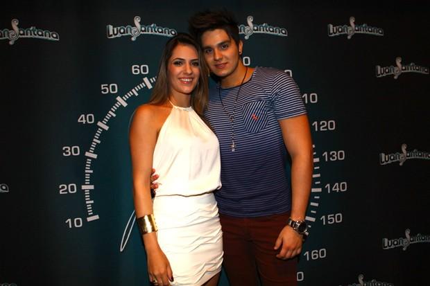 Luan Santana e Jade Magalhães em evento em São Paulo (Foto: Iwi Onodera/ EGO)