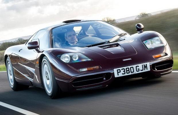 """""""Mr. Bean"""" coloca à venda McLaren F1 por R$ 31 milhões"""