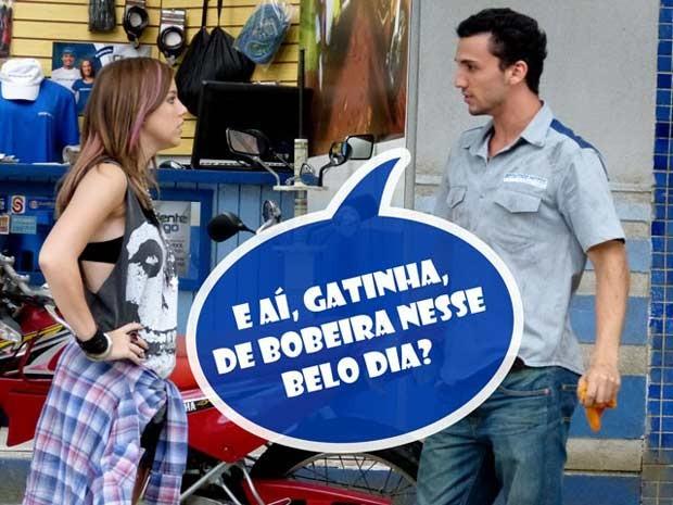 Sal sedutor? Esse bad boy não respeita ninguém...  (Foto: Malhação / TV Globo)