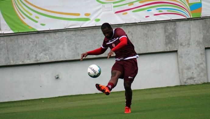 América-RN - Cleber, zagueiro (Foto: Canindé Pereira/América FC)