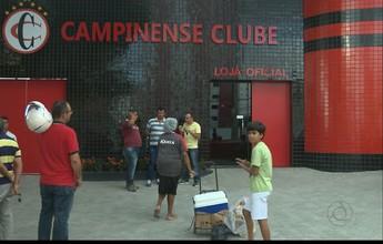 Campinense espera cerca de 10 mil torcedores no confronto com o Sport