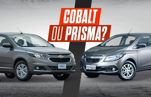 Comparativo: Chevrolet Cobalt e Chevrolet Prisma (Foto: Autoesporte)