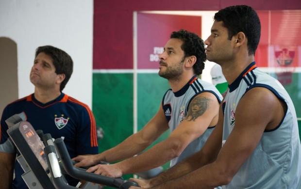 gum fred fluminense treino (Foto: Bruno Haddad / FluminenseFC)
