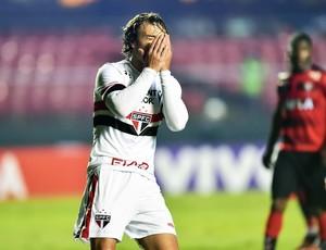 São Paulo x Vitória Lugano (Foto: Marcos Ribolli)