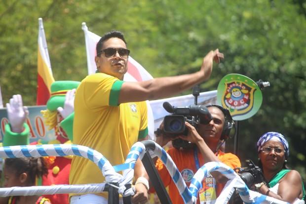 Xanddy em trio no carnaval de Salvador (Foto: Divulgação / Fred Pontes)