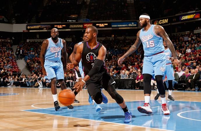 Chris Paul Clippers x Kings NBA (Foto: Getty)