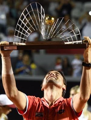 tenis david ferrer troféu aberto do rio (Foto: AFP)