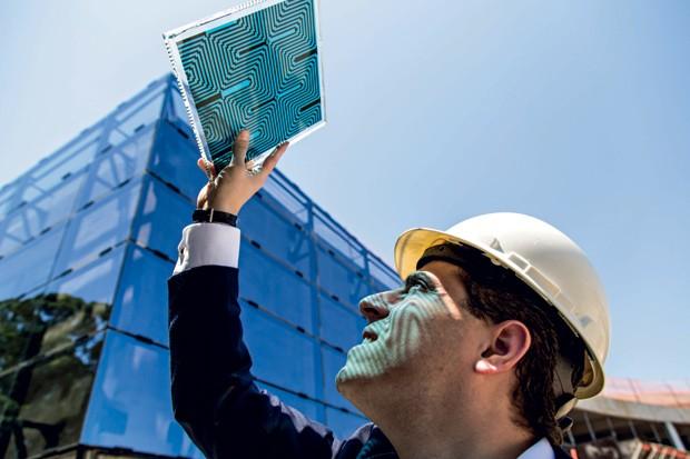 Tecnologia;Energia;Vidro elétrico (Foto: Ênio Cesar)