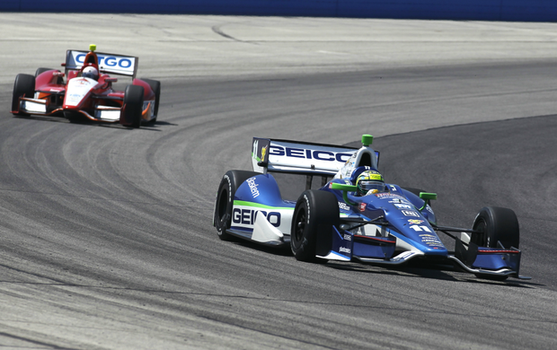 Indy Milwaukee Tony Kanaan (Foto: AP)