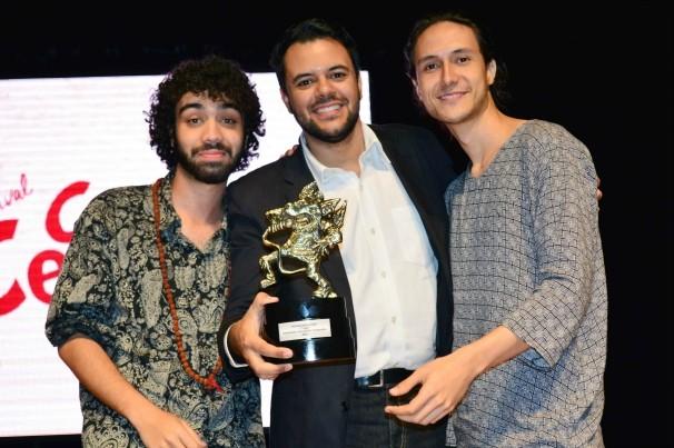 Dalmir Reis, coordenador de marketing da TV Anhanguera participou da entrega dos prêmios. (Foto: TV Anhanguera)
