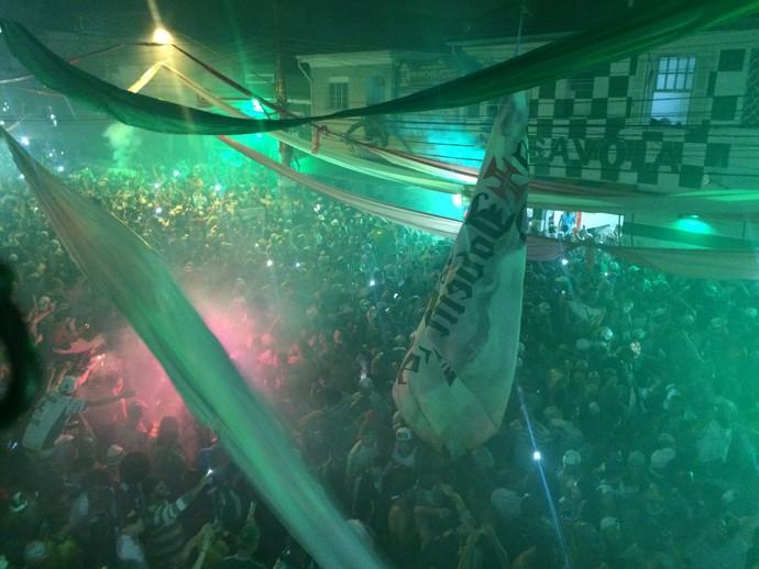 Palmeiras Festa  (Foto: Chris Mussi )