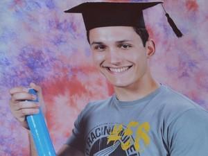 Marcos Delefrate foi atropelado durante uma manifstação em junho, em Ribeirão Preto (SP) (Foto: Reprodução/Arquivo Pessoal)