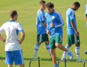 Valdivia Treino Palmeiras (Foto: Sergio Gandolphi)