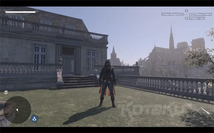 Outra imagem mostra a Catedral de Notre-Dame ao fundo (Foto: Kotaku)