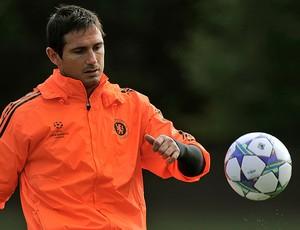 Frank Lampard treino Bayer Leverkusen (Foto: Reuters)