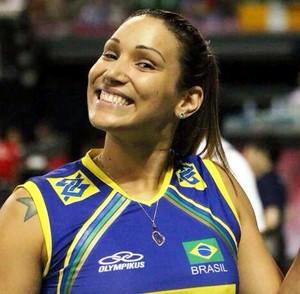 Jogadora Tandara  (Foto: Reprodução/Facebook)