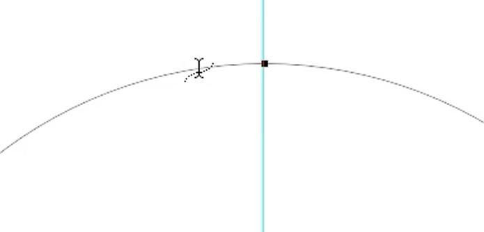 Ferramenta de texto horizontal sobre o demarcador (Foto: Reprodução/André Sugai)