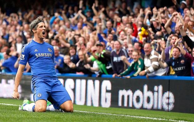 Fernando Torres, Chelsea x Newcastle (Foto: Agência Reuters)