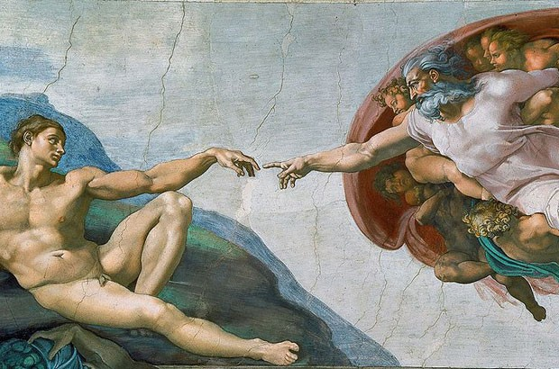 Afresco na capela Sistina, no Vaticano (Foto: Creative Commons/Erzalibillas)