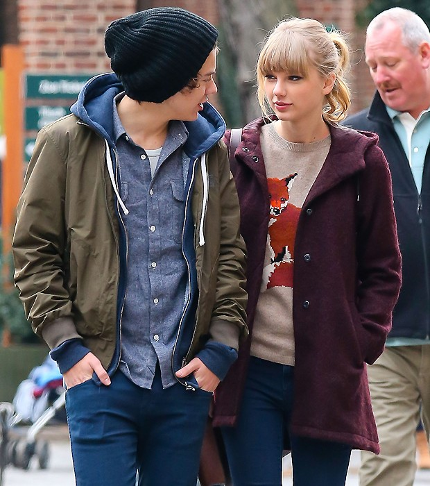 Taylor Swift e Harry Styles (Foto: Grosby Group)