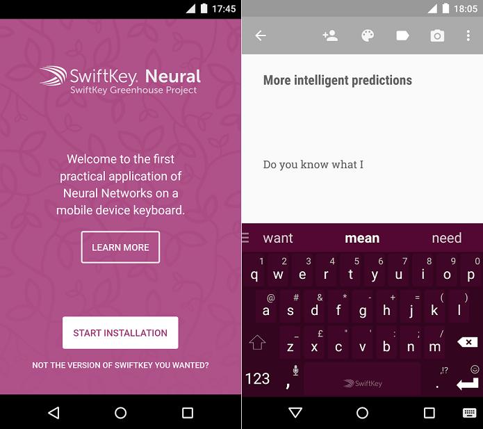 Neural é um teclado mais inteligente do que nunca (Foto: Divulgação/SwiftKey)