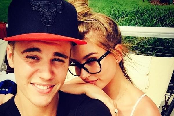 Justin Bieber e Hailey Baldwin (Foto: Instagram)