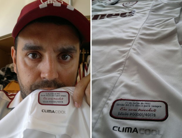 camisa Fluminense (Foto: Arquivo Pessoal)