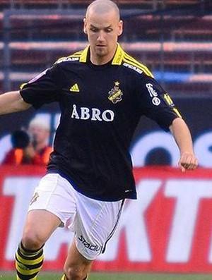 Alexander Milosevic, zagueiro do AIK (Foto: Divulgação AIK)