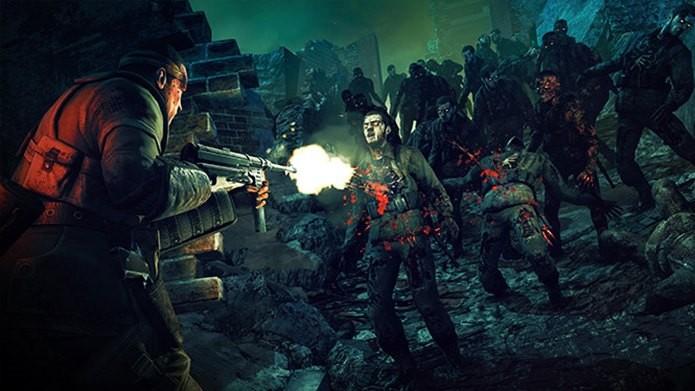 Em Zombie Army Trilogy os zumbis foram ressuscitados pelo demônio (Foto: Divulgação)