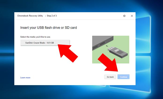 Insira o pendrive de 8 GB ou mais (Foto: Reprodução/Paulo Alves)
